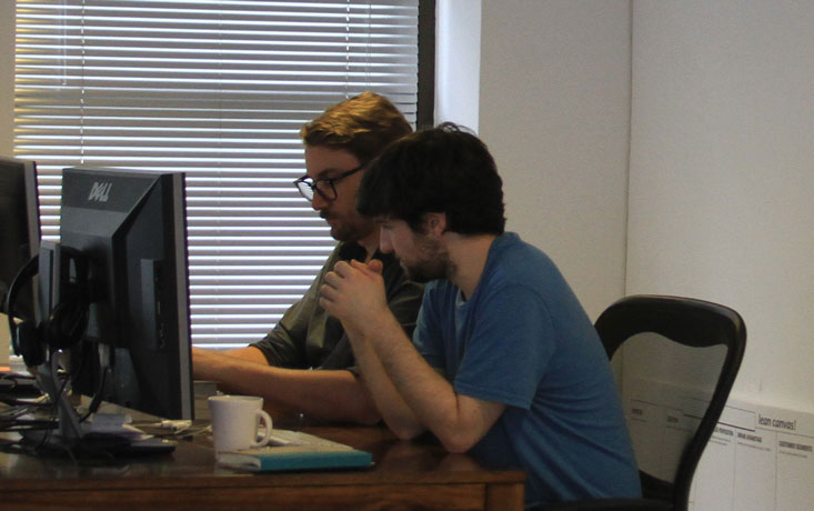 @mauro_oto and I pair programming